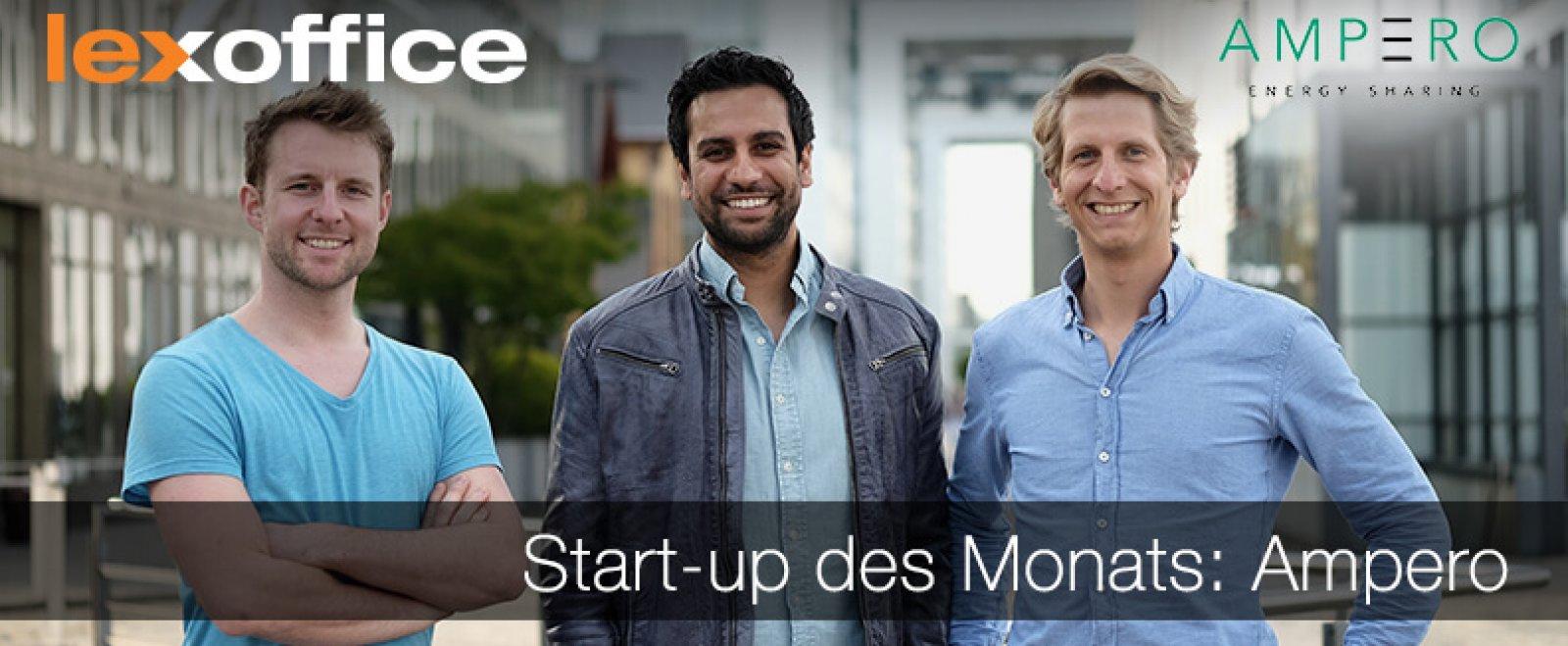 lexoffice stellt das Start-up des Monats vor: Ampero
