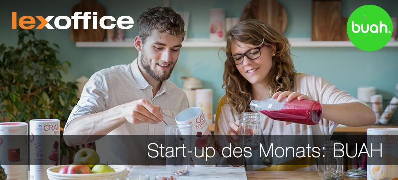 Das lexoffice Start-up des Monats Februar 2017 ist BUAH aus Berlin mit einer cleveren Lösung für die tägliche Vitaminzufuhr.