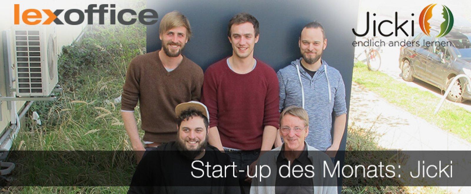 lexoffice stellt Euch das Start-up des Monats Mai 2017 vor: Jicki