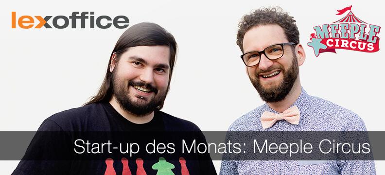 lexoffice stellt Euch das Start-up des Monats Juli 2017 vor: Meeple Circus