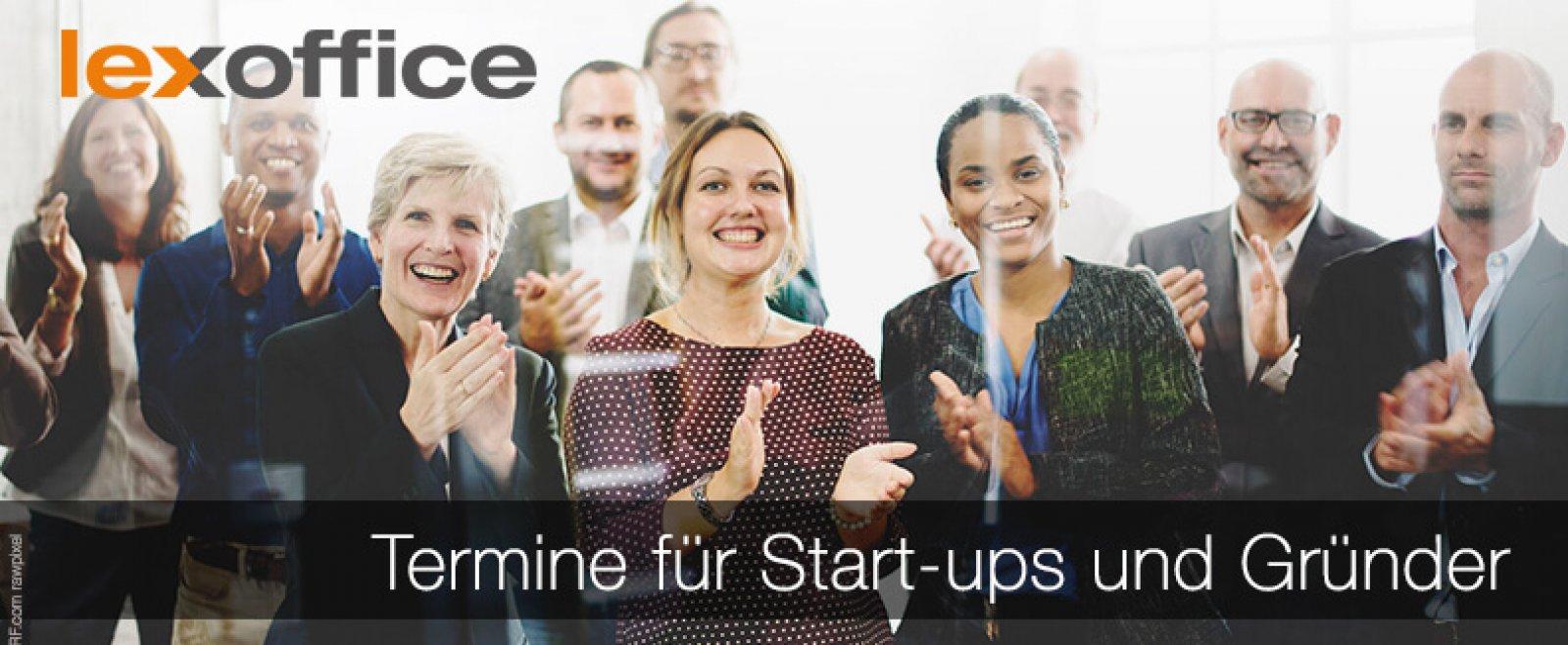 Veranstaltungstipps für Gründer und Start-ups, Networking-Fans und Fortbildungswillige - Events im Januar 2018 im lexoffice Blog für Selbstständige.