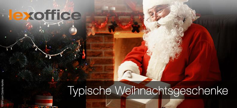 Was schenken die Deutschen? Typische Weihnachtsgeschenke