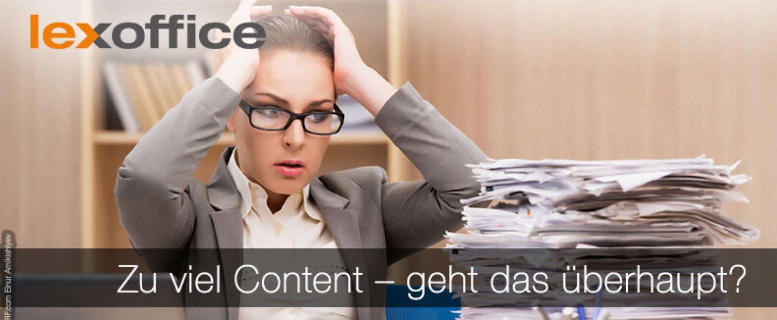 Zu viel Content - geht das überhaupt? Online-Marketing für Gründer