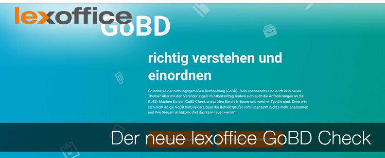 Der neue lexoffice GoBD Check