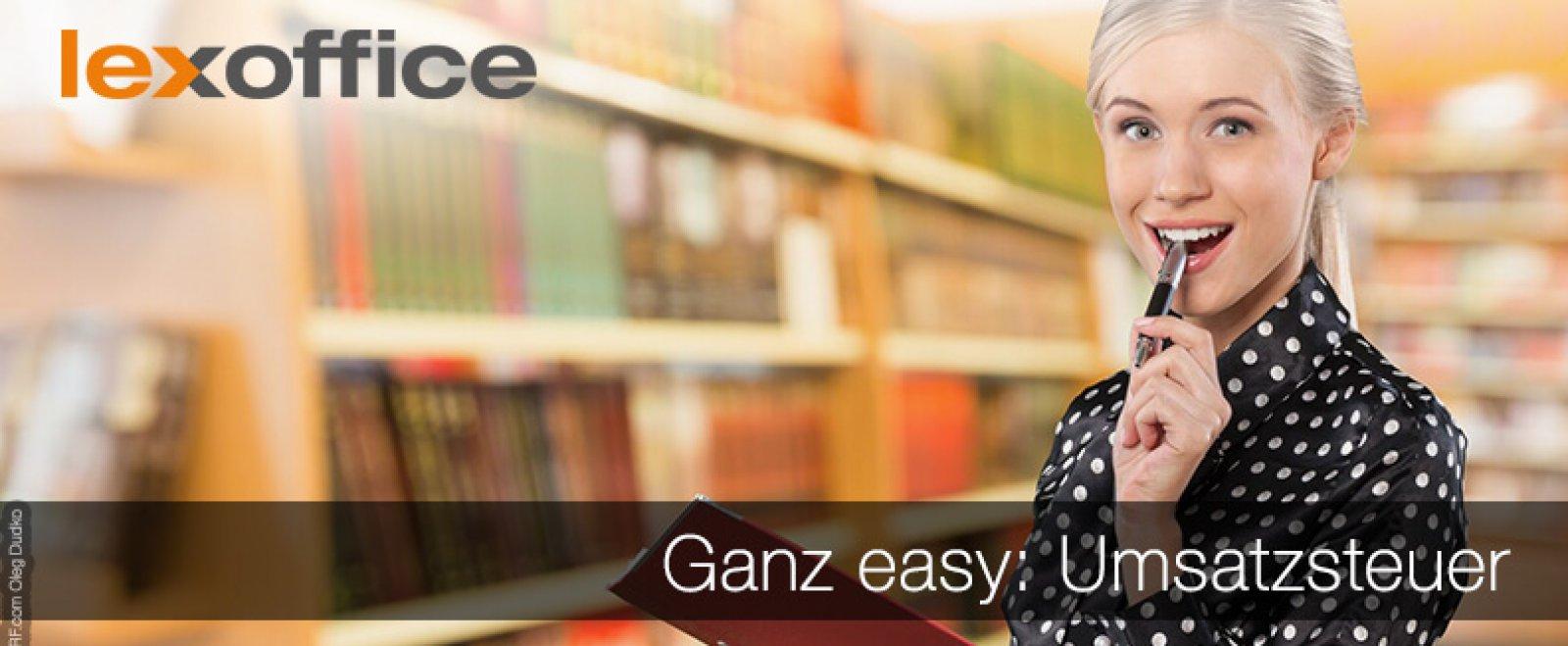 Ganz easy: Umsatzsteuer mit lexoffice - der Online Buchhaltungssoftware für MAC und PC