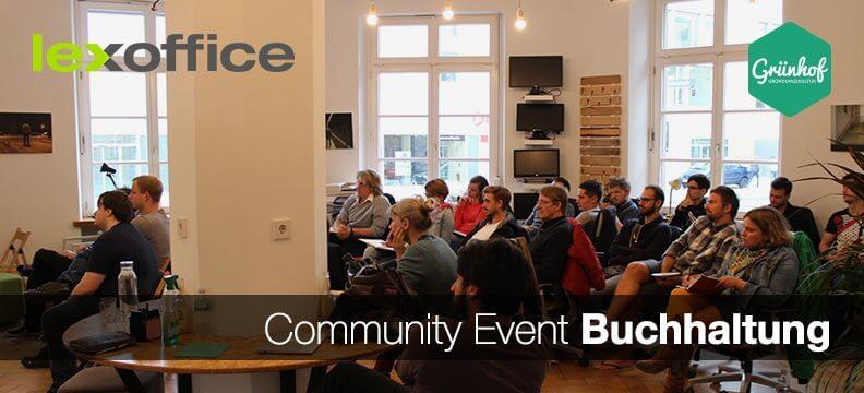 Community Event Buchhaltung: lexoffice und Grünhof in Freiburg