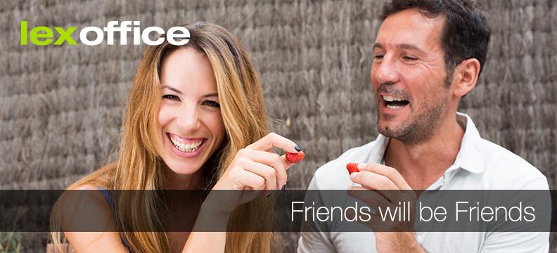 Friends will be Friends – arbeiten für Freunde und Bekannte