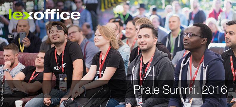 lexoffice on tour: Auf dem Pirate Summit 2016 in Köln