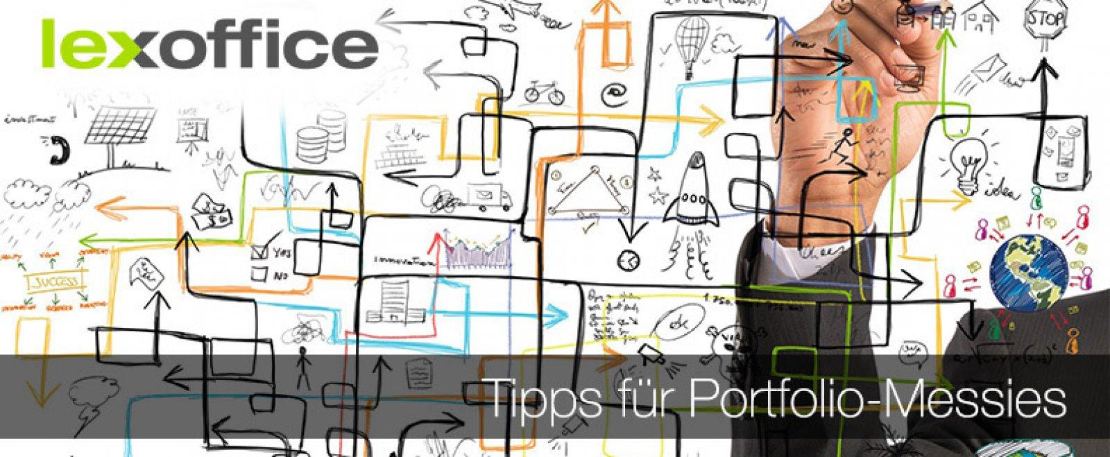 Tipps für Portfolio-Messies Tipps für Portfolio-Messies
