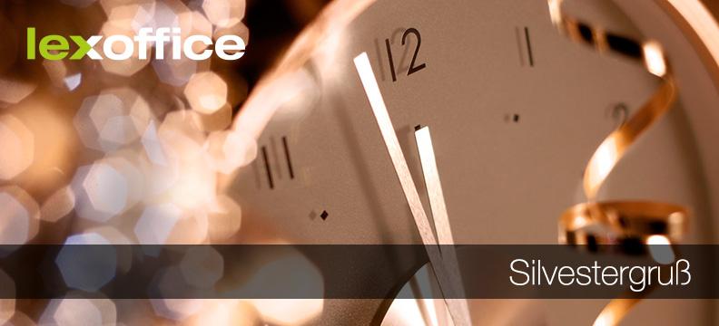 Die allerbesten Wünsche zum Jahreswechsel vom lexoffice Team