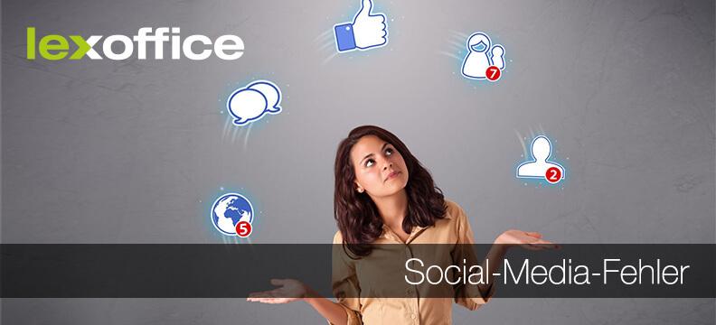 3 typische Social-Media-Fehler, die Unternehmer vermeiden sollten