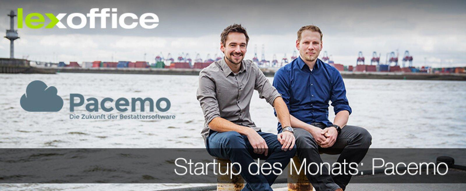 lexoffice stellt das Start-up des Monats vor: Pacemo