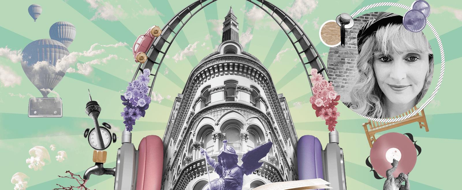 Zine Culture Collage: Anja Reimann, Grafikdesign Düsseldorf