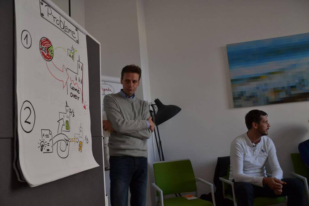 Carsten und Thorsten vom lexoffice Team bei den Econauten in Freiburg