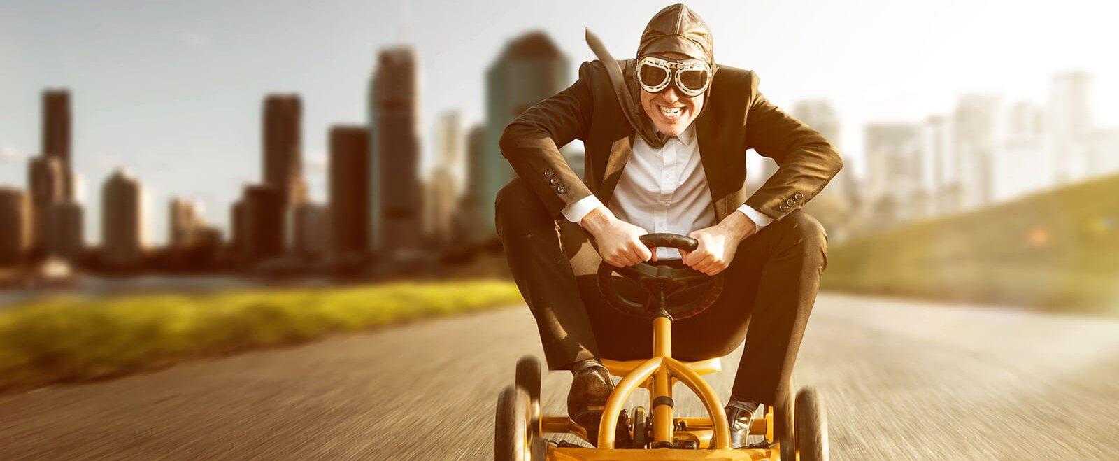 Angst ist, was uns am Boden hält - authentisches Marketing