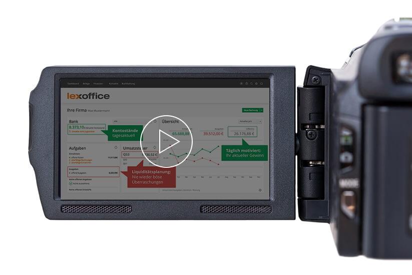 Vorschaubild für Funktionsvideo der Buchhaltungssoftware für Fotografen