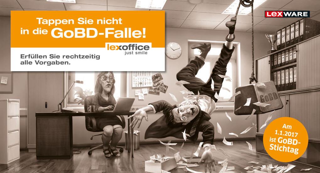GoBD Falle vermeiden - lexoffice ist GoBD zertifiziert!