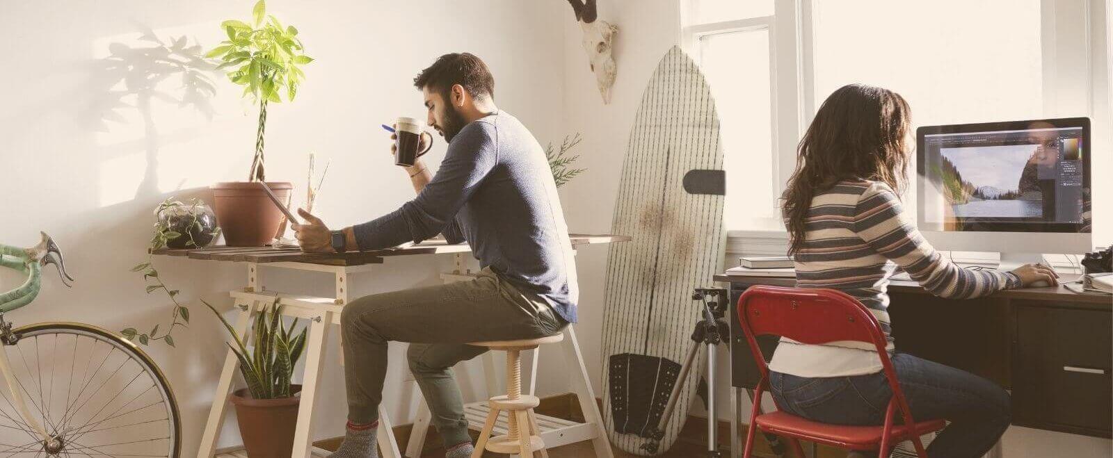 Frische Ideen für dein Home-Office