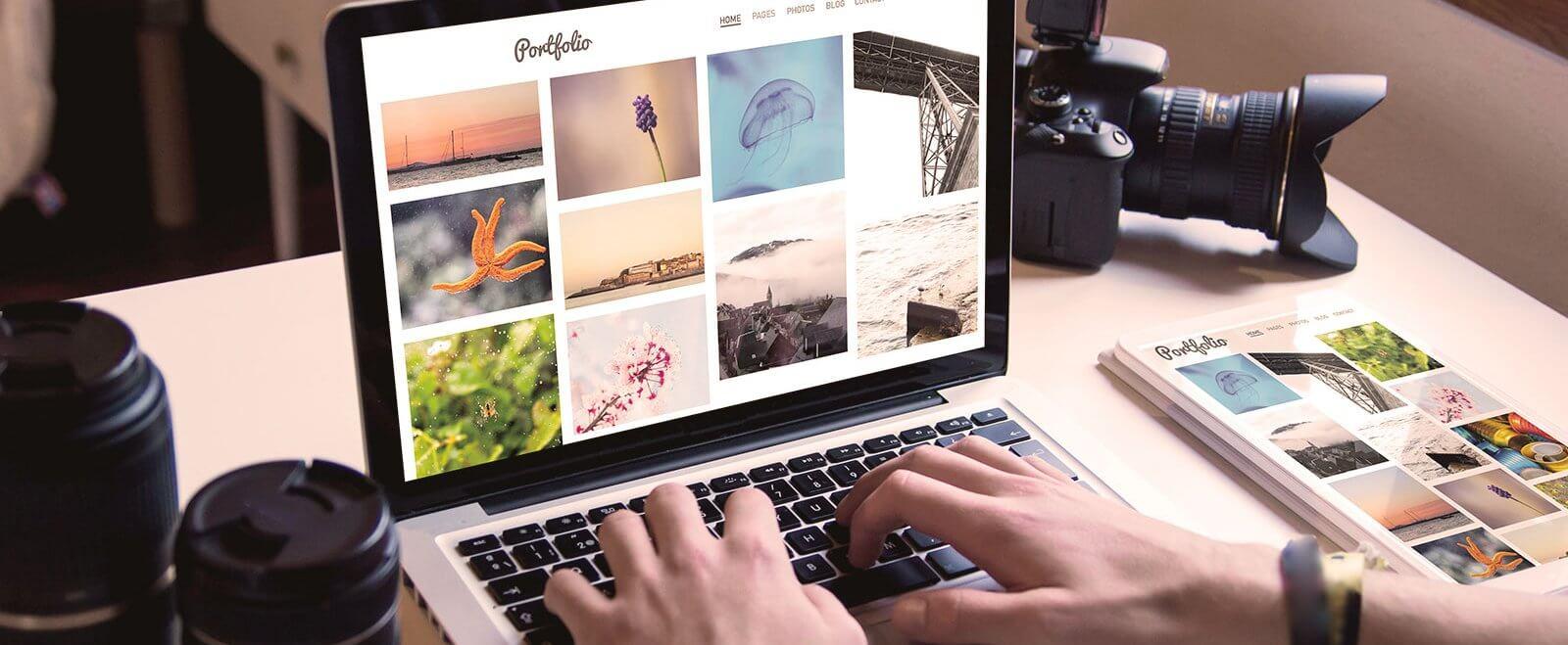 Internetpräsenz für Fotografen