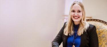 """Simone Herzog: """"Es ist so leicht - ich bin total begeistert von lexoffice!"""""""