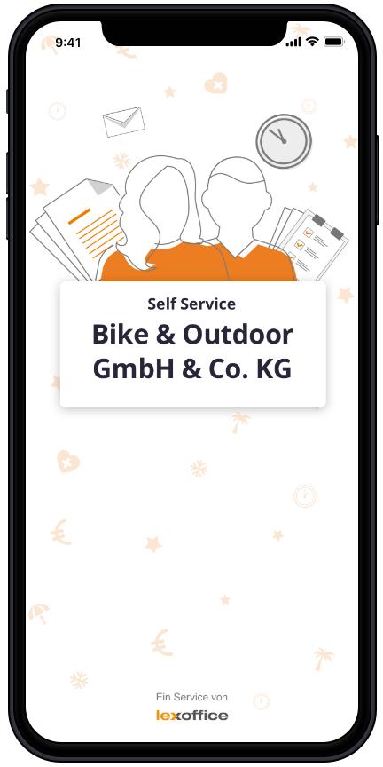 Screen: Self Service - Start