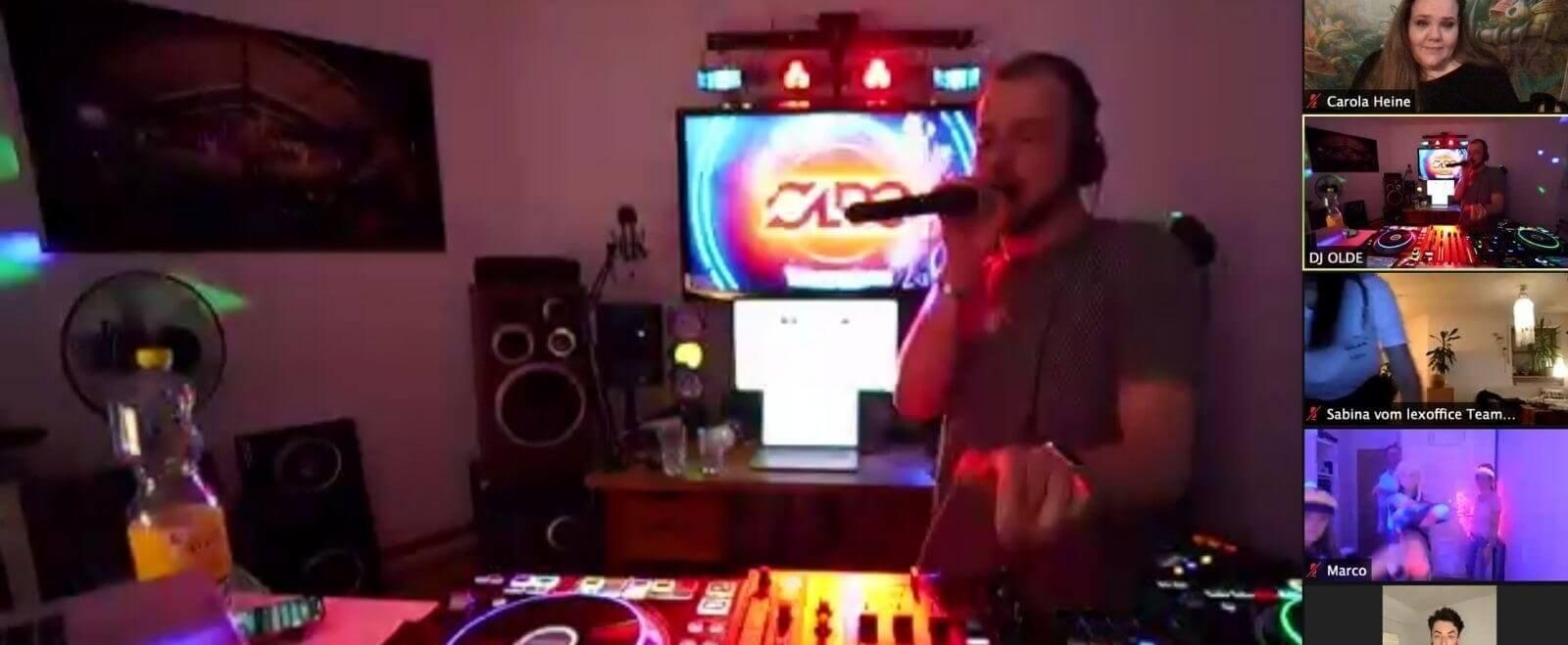 Party im Online-Livestream? Das geht!