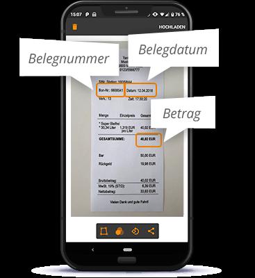 lexoffice Texterkennung: Alle Daten schnell erfassen