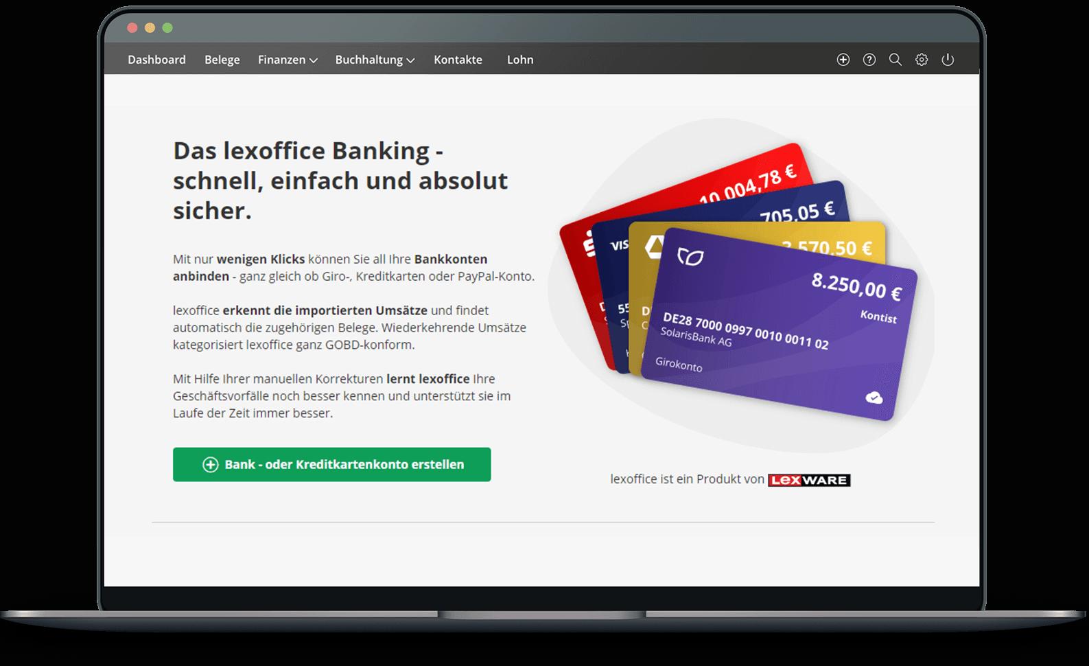 lexoffice Banking