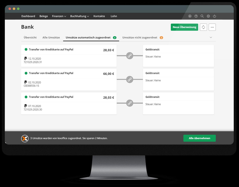 Die PayPal-Zahlungseingänge Ihrer Kunden in die Buchhaltung in lexoffice übernehmen
