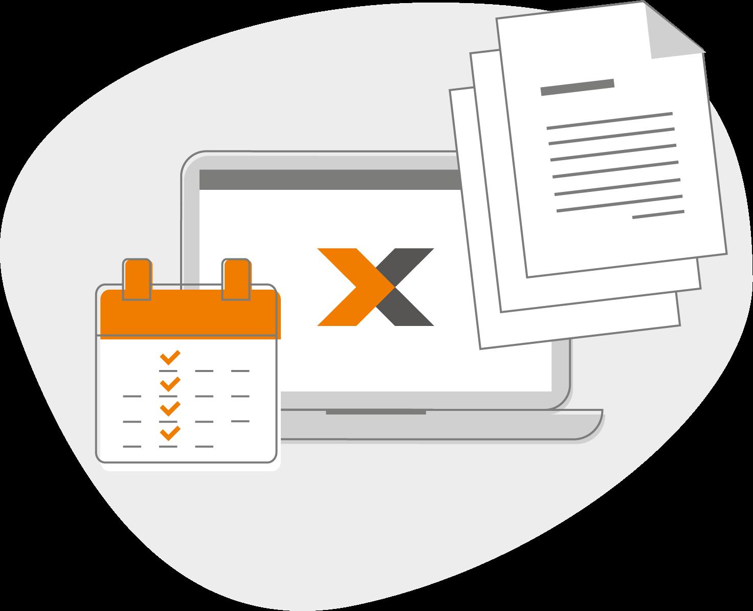 Serienrechnungen mit lexoffice online schreiben