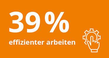 Welchen Mehrwert bietet lexoffice? – 39% effizienter arbeiten