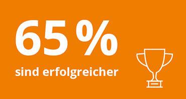 Welchen Mehrwert bietet lexoffice? – 65% sind erfolgreicher