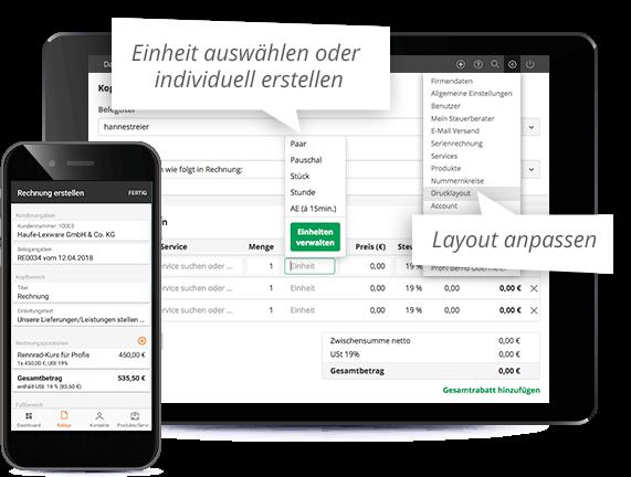 Online Rechnungen schreiben - mit Rechnungprogramm lexoffice