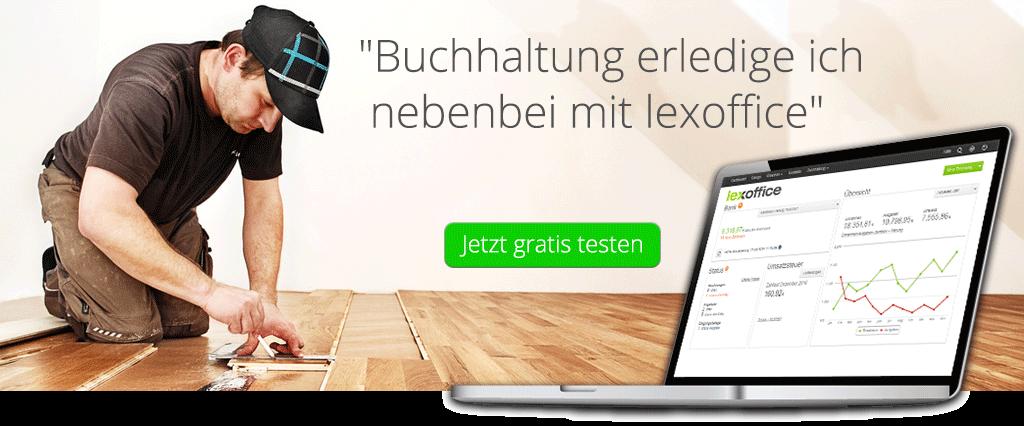 Buchhaltung Software für Bodenleger - lexoffice