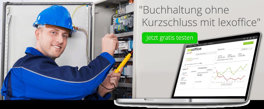 Buchhaltungssoftware für Elektriker - www.lexoffice.de