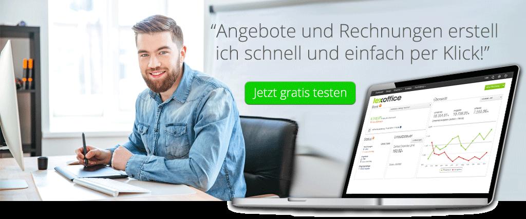 Buchhaltung Software für Grafiker - lexoffice