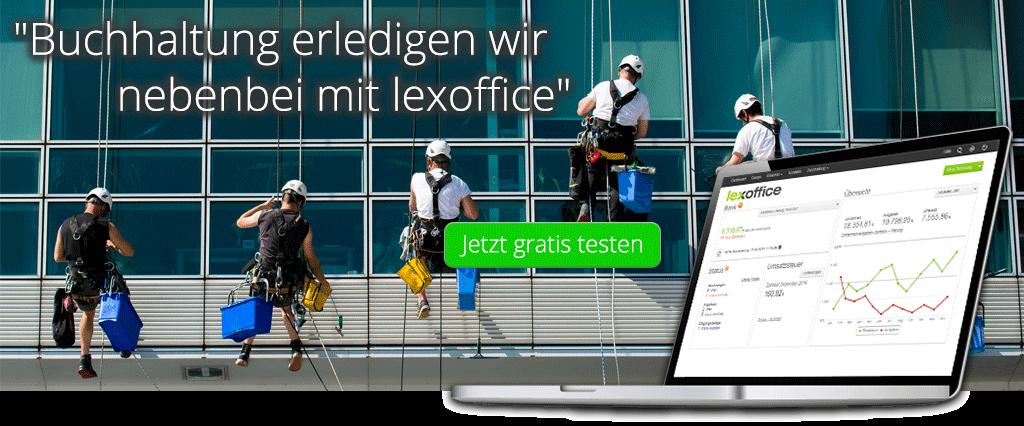 Buchhaltung Software für Reinigungsfirma - lexoffice