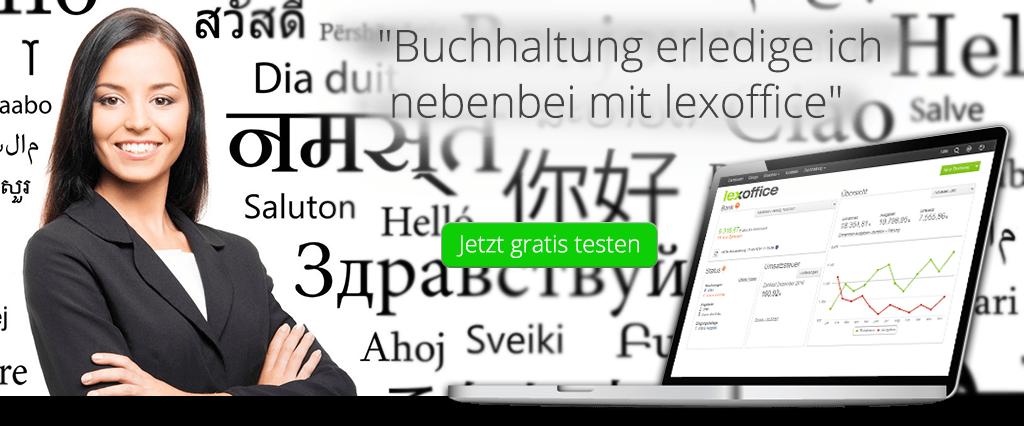 Lexoffice Buchhaltungssoftware Für übersetzer