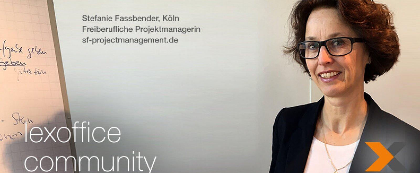 Freelance Projekt Manager Cologne lexoffice Community Interview 26 - Stefanie Fassbender, Köln