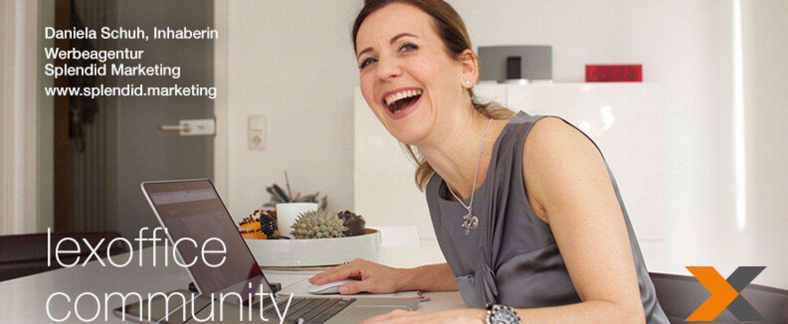 lexoffice Community: User im Interview (25) Daniela Schuh