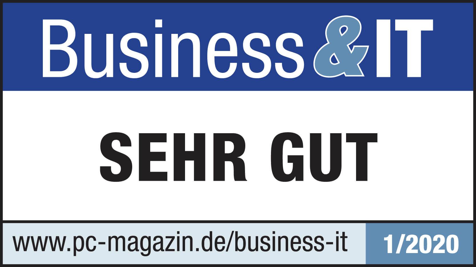 Lohn und Gehalt Business&IT Siegel lexoffice Rechnungsprogramm Buchhaltungssoftware