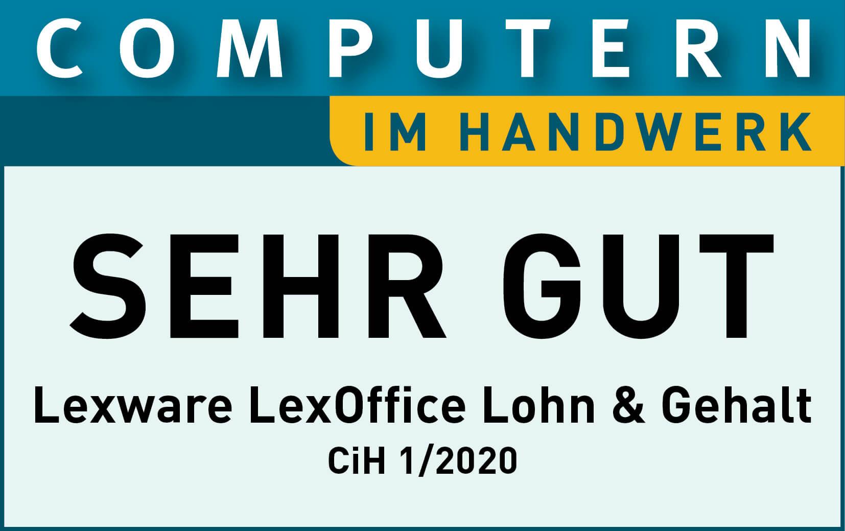 Loh Computer Handwerk Siegel lexoffice Rechnungsprogramm Buchhaltungssoftware