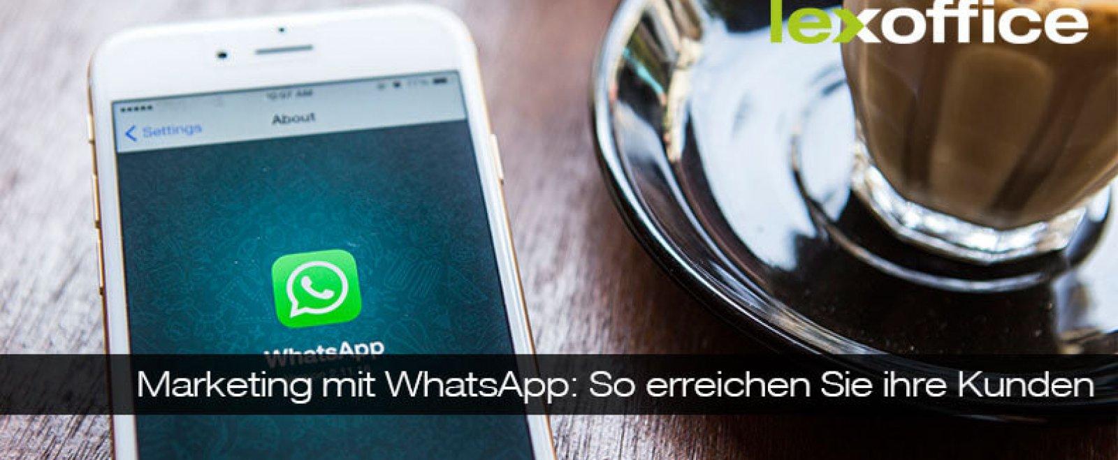 Online-Marketing: Whatsapp integrieren – so geht's