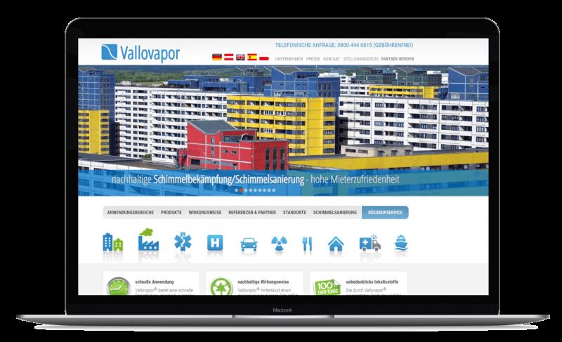 Vallovapor Erfolgsgeschichte