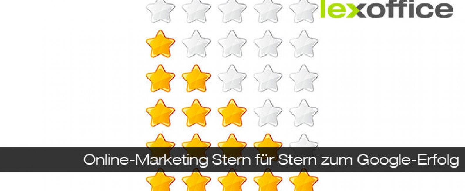 Online-Marketing: Stern für Stern zum Google-Erfolg