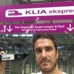 Pendelordner in Kuala Lumpur