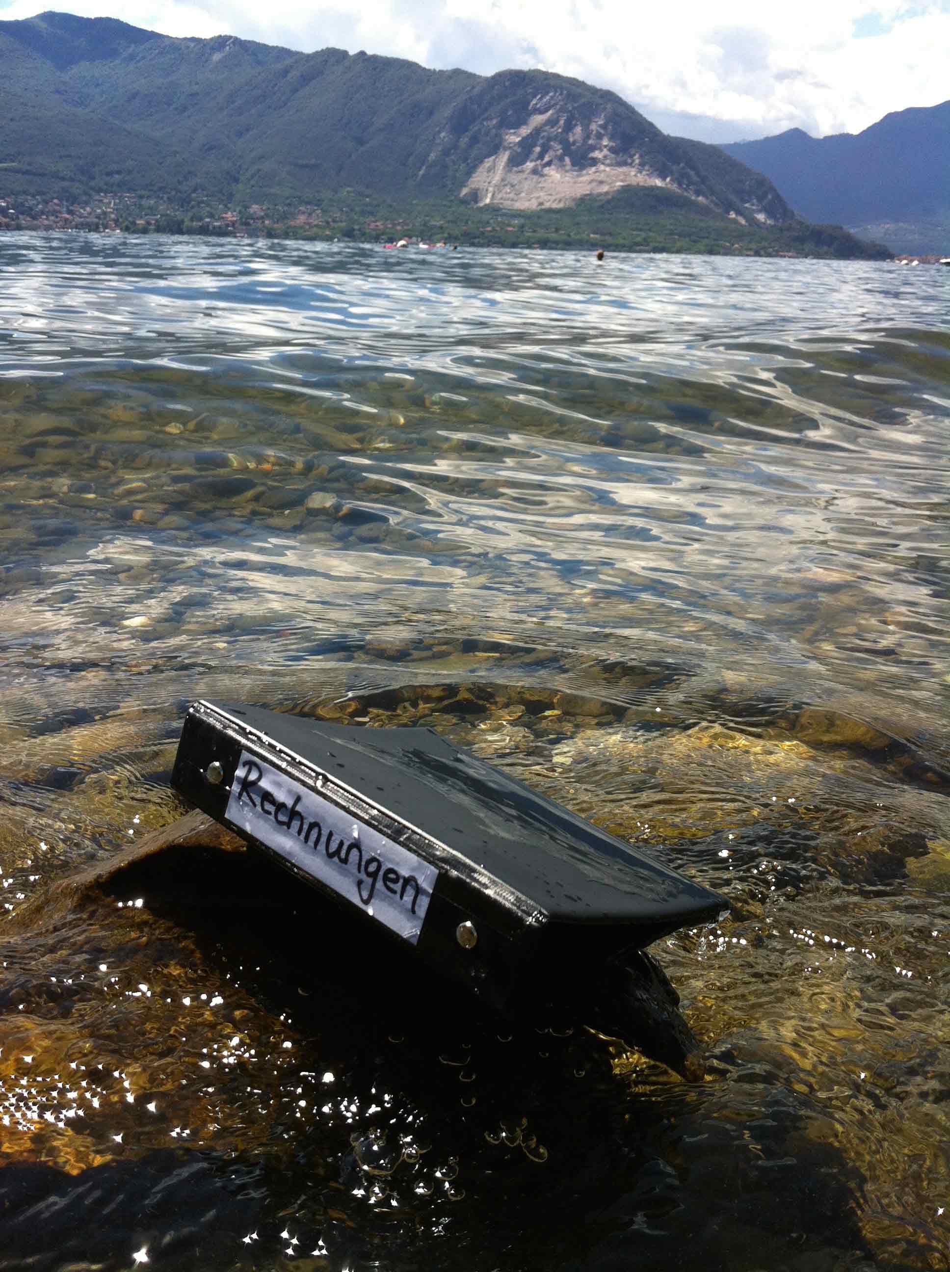 Pendelordner im Lago Maggiore bei Verbania