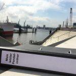 Der Pendelordner in Hamburg am Hafen