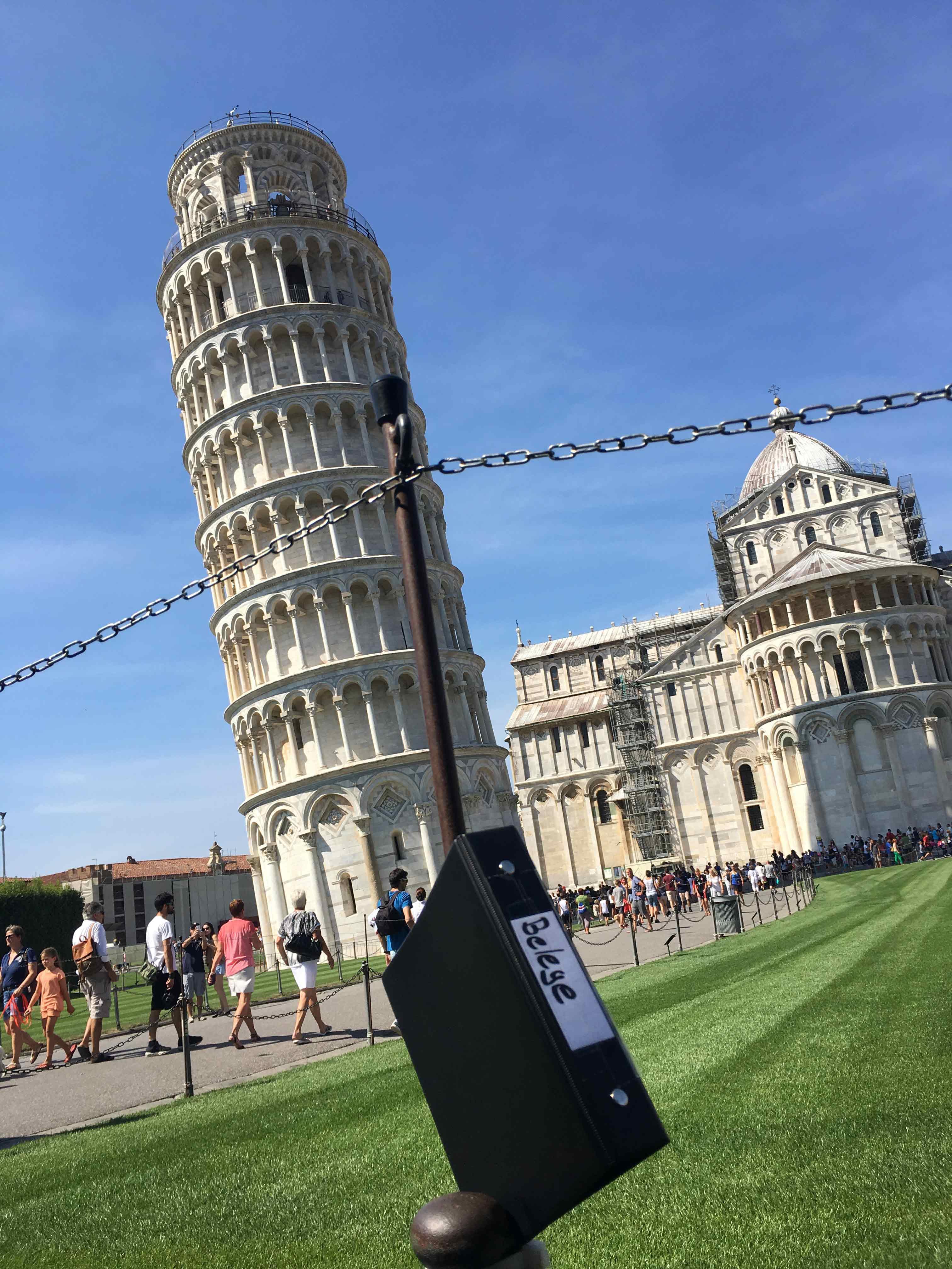 Pendelordner in Pisa