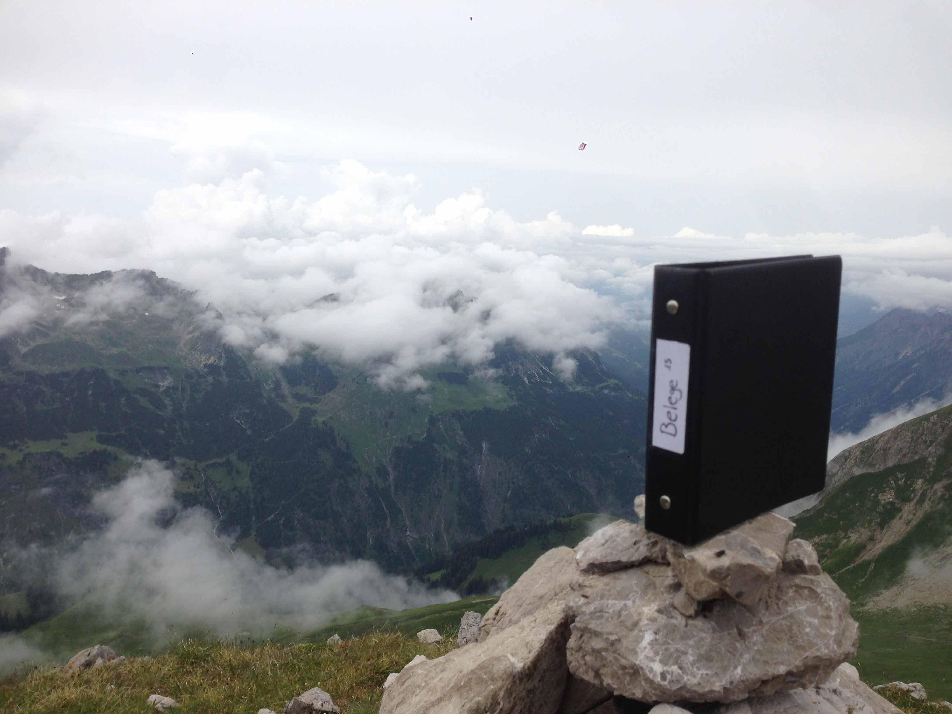 Pendelordner in den Allgäuer Alpen